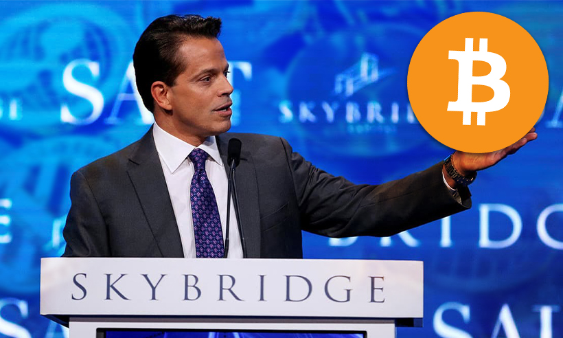 Bitcoin Can Do Well Solely as a Store of Value: Anthony Scaramucci