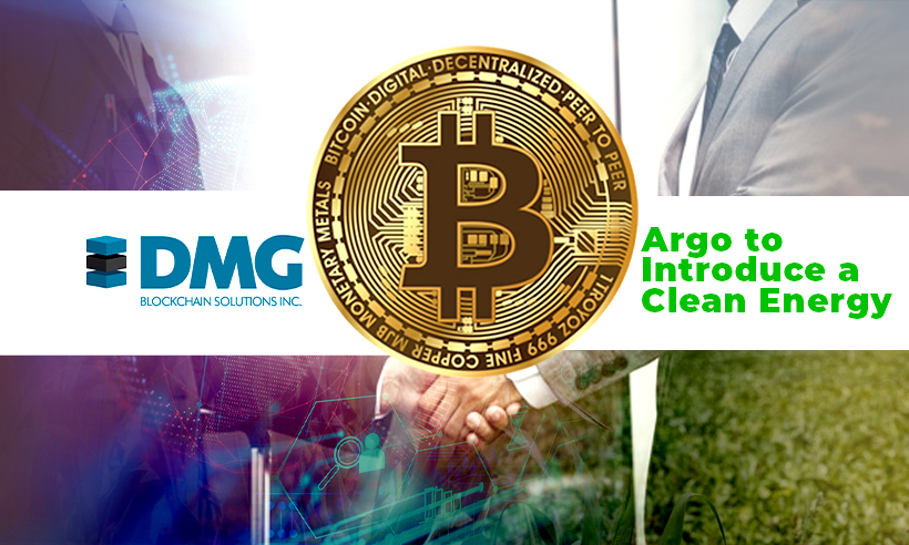 DMG and Argo to Introduce a Clean Energy-Targeted BTC Mining Pool