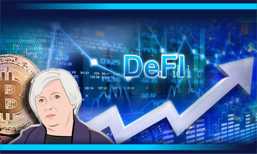 DeFi Market Booms Further After Economist Janet Yellen Backs Crypto