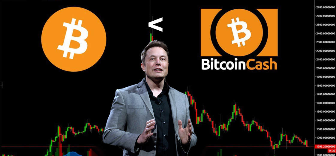 Elon Musk Admits Bitcoin Cash Offers Much Lower Fees than Bitcoin