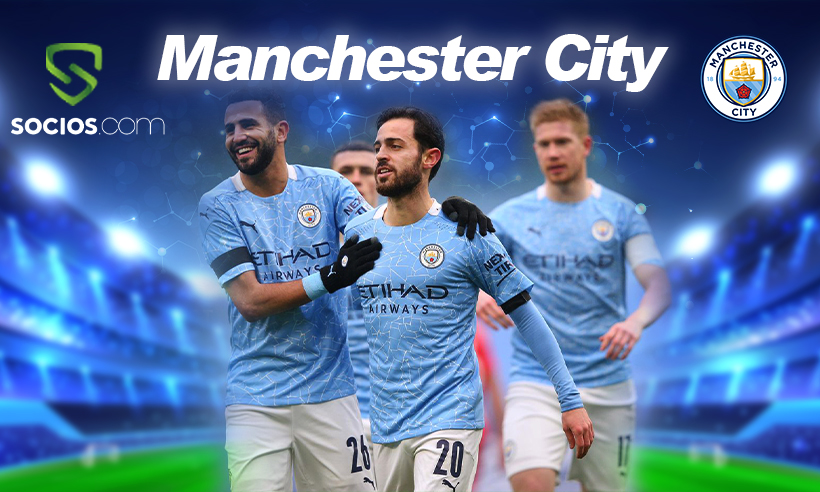 Manchester City Deals with Socios.com to Launch Fan Token $CITY