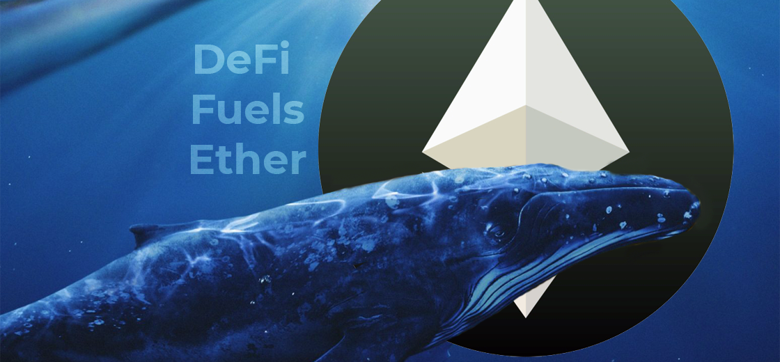 Ethereum Whales Continue Holding as DeFi Fuels Ether