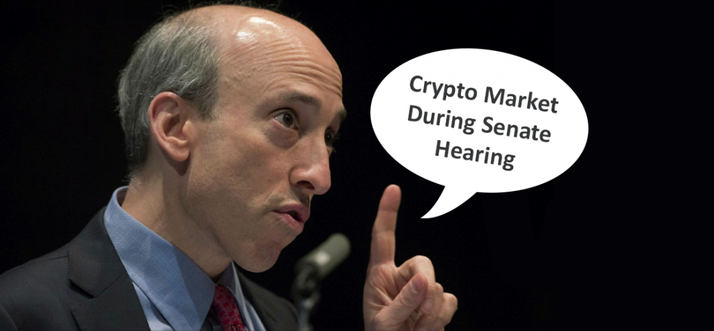 Gary Gensler Weigh in on Cryptocurrency Market During Senate Hearing