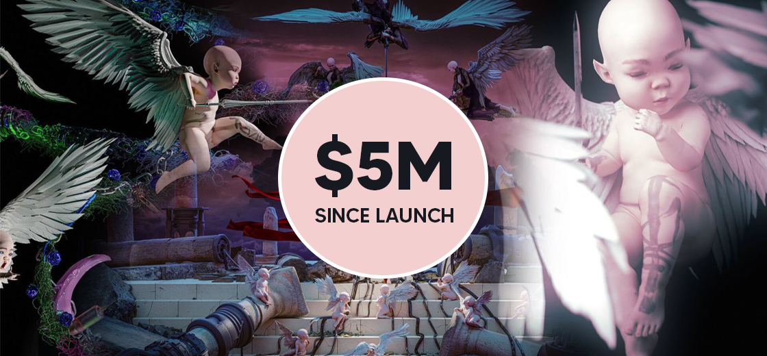 Grimes Released WarNymh NFTs, Made $5 Million Since Their Launch