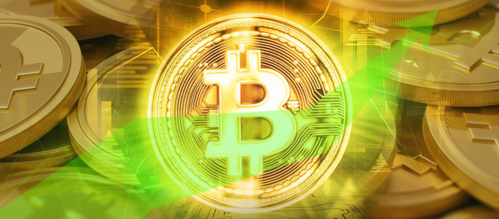 Technical Indicator Bitcoin Bull Flag Suggests Price Will be Above $70K Soon