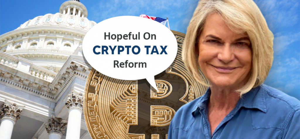 Pro Bitcoin Senator Cynthia Lummis Hopeful on Crypto Tax Reform