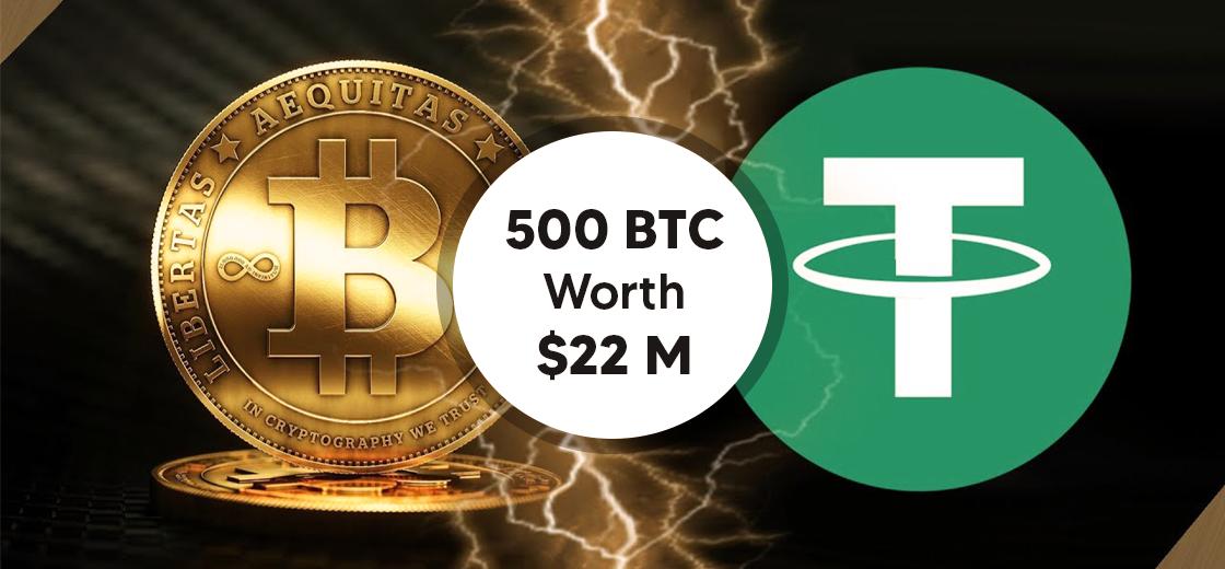 Tether Receives Ransom Note Demanding 500 BTC Worth $22 Million