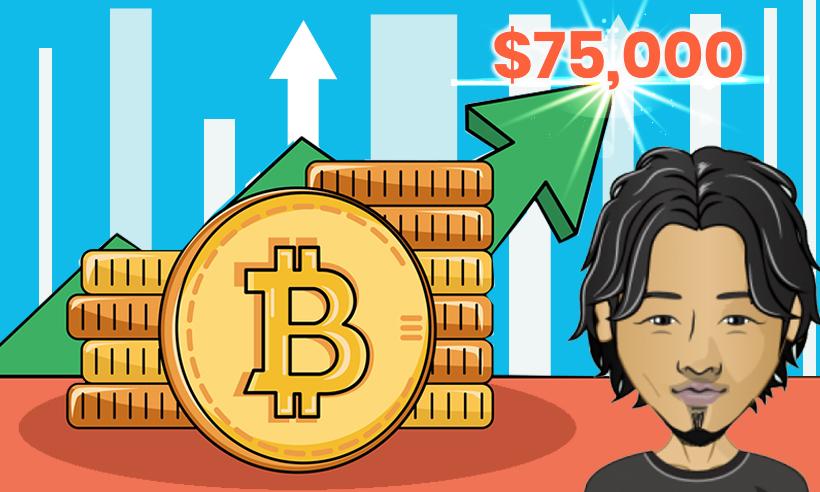 Bitcoin to Cross $75K Soon, Says The Man Who Predicted 2019 Bottom