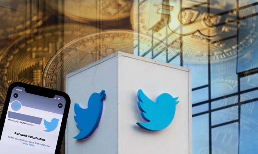Twitter Suspends Major Cryptocurrency Related Accounts
