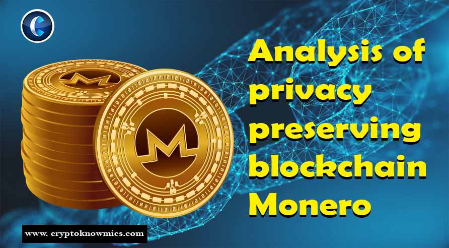 An Analysis of Privacy Preserving Blockchain Monero
