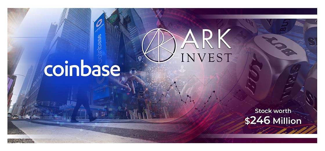 Ark Investment Buys $246 Million Worth Coinbase Stock