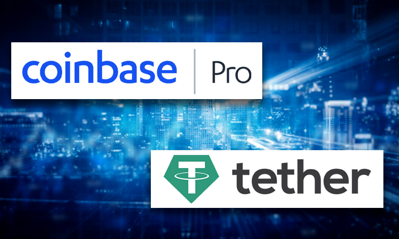 Coinbase Pro to Allow Trading of Stablecoin Tether USDT