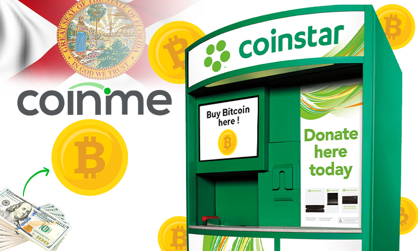 Coinme Facilitates Bitcoin ATMs Across Florida