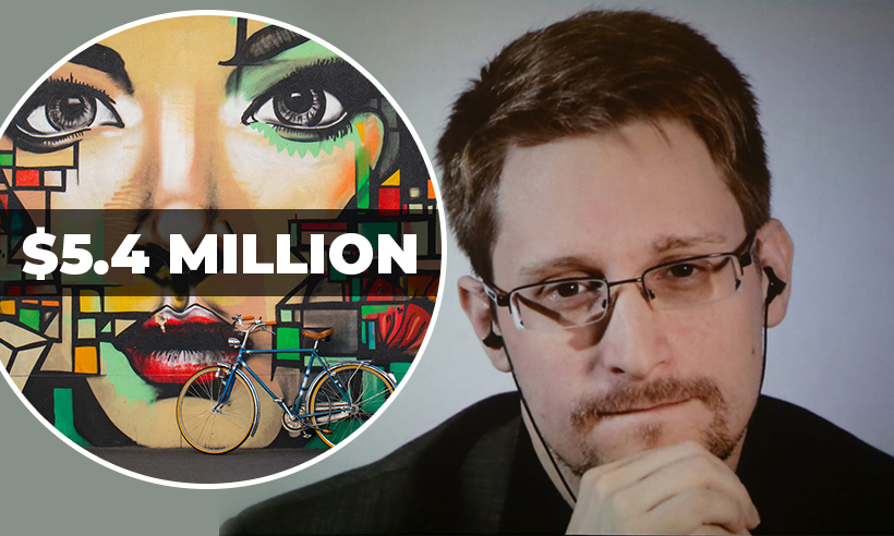 "Edward Snowden's ""Stay Free"" NFT Art Sells for $5.4 Million"