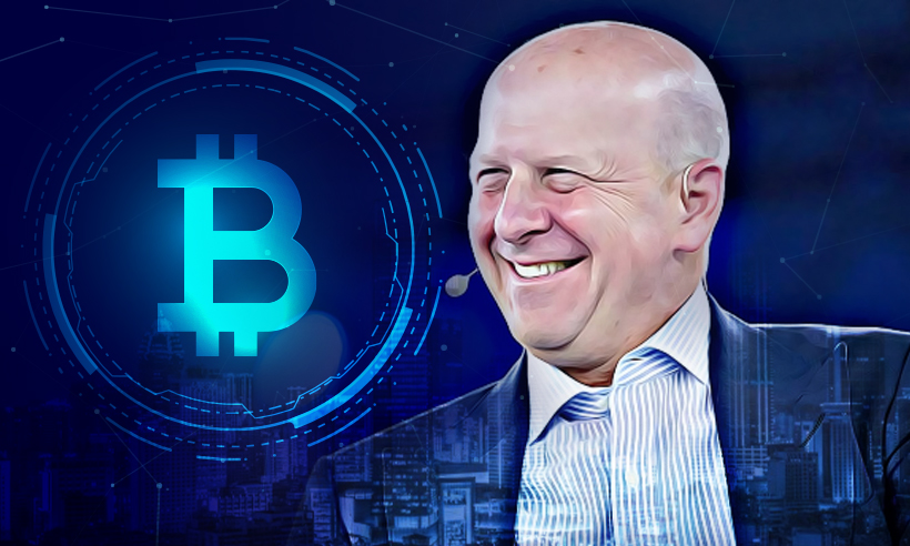 Goldman Sachs CEO Sees 'Big Evolution' Coming to Crypto Space