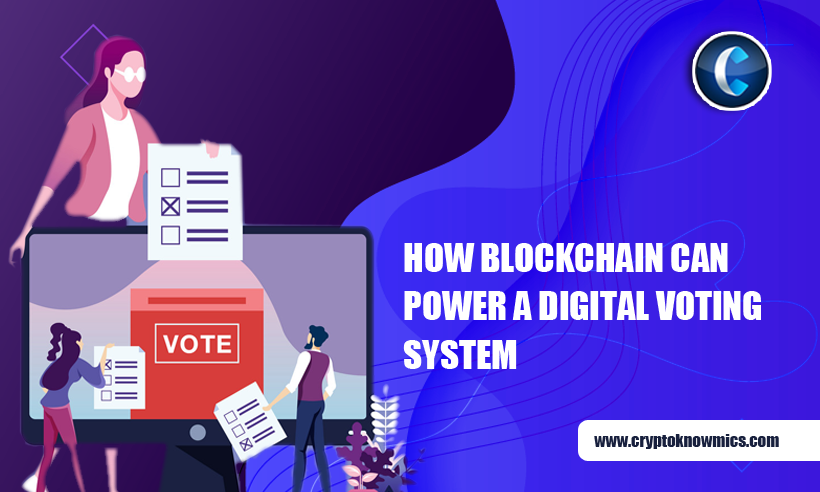 How Blockchain Can Power A Digital Voting System