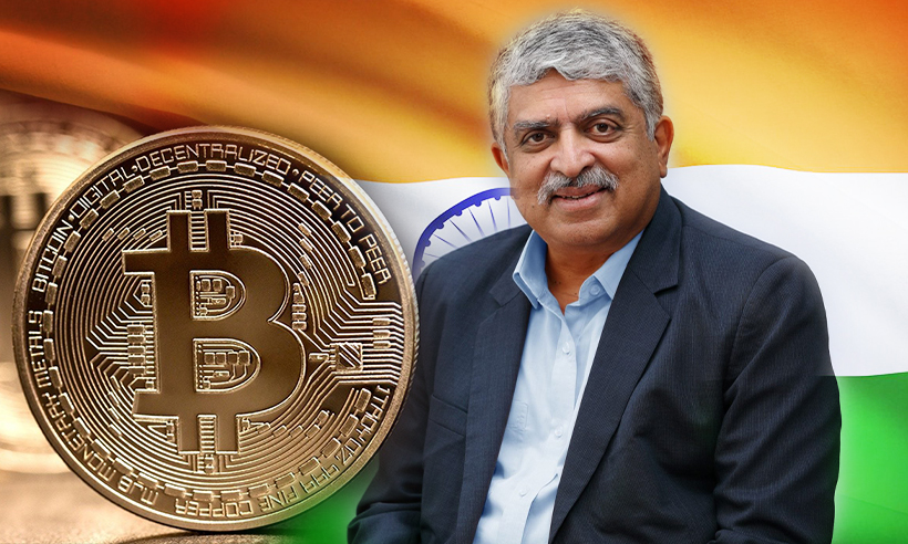 Nandan Nilekani Believes Crypto Will Back India Reach $5T SME Goal