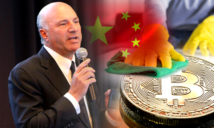 Kevin O'Leary Prefers 'Clean Coins' over 'Blood Coins' from China