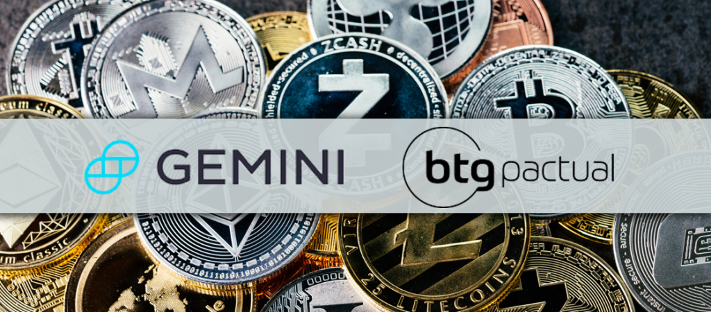 Gemini Providing Custody for BTG Pactual's New Bitcoin Fund