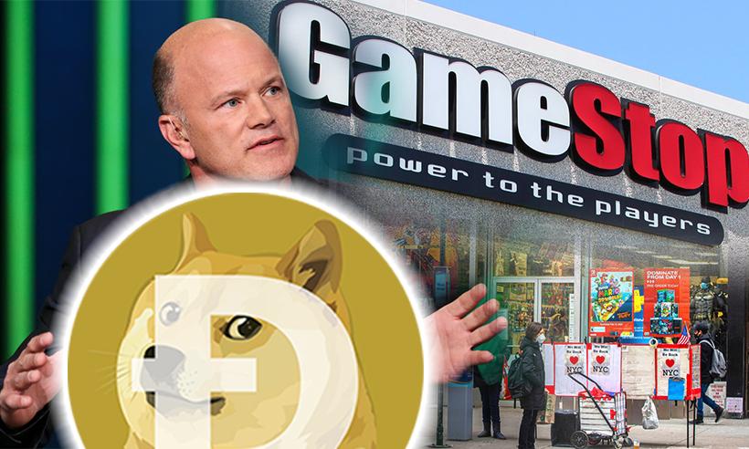 Mike Novogratz Compares Dogecoin Surge to Gamestop
