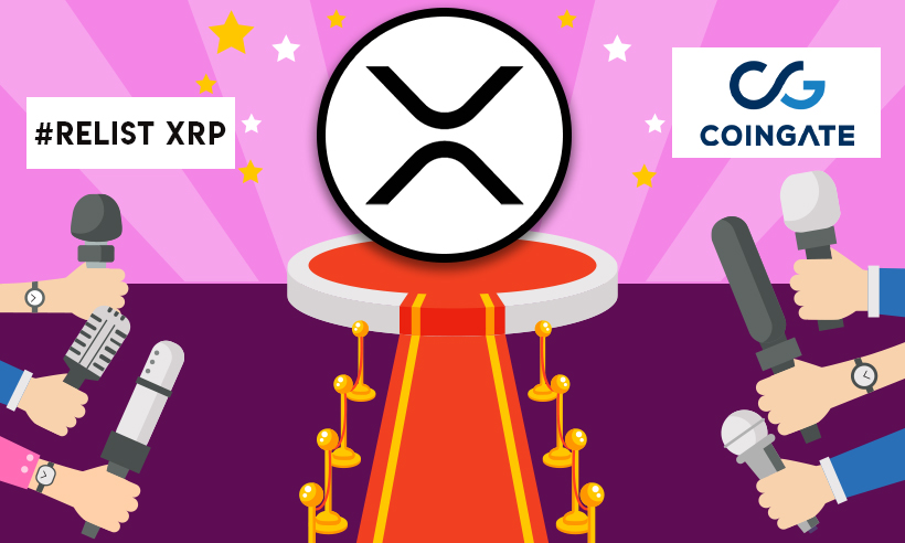 #RelistXRP Gains Momentum as CoinGate Backpedaled for XRP Drop