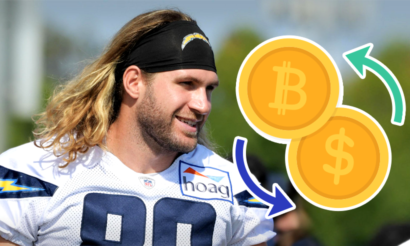 Sean Culkin to be the First NFL Player to Convert His Salary to Bitcoin