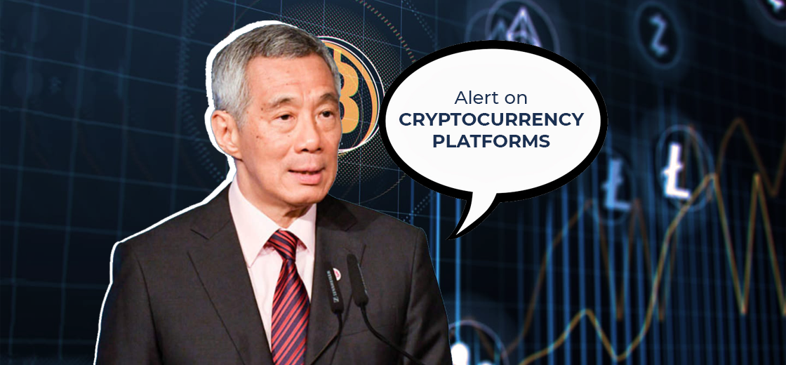 Singapore PM Alerts Citizens On Cryptocurrency Platforms