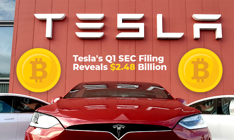 Tesla Reads Bitcoin Holdings of Nearly $2.5 Billion in its SEC Filing