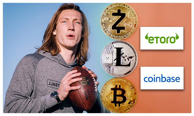 Trevor Lawrence Cuts Multi-Million Endorsement Deal With Crypto App