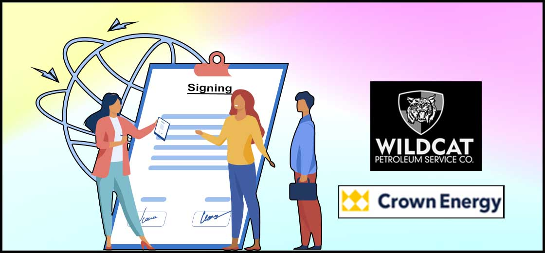 Wildcat Petroleum PLC Announces Signing an MoU With Crown Energy AB