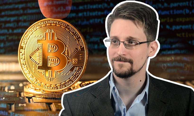 Bitcoin isn't Private Enough, Update Makes it Worse: Edward Snowden