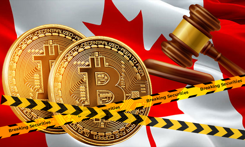 Canadian Regulators Take Action Against Non-Compliant Crypto Exchanges