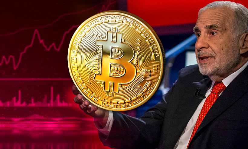 Carl Icahn may Invest in Cryptocurrencies 'In A Relatively Big Way'