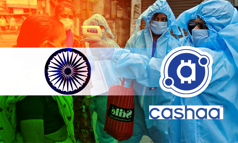 Cashaa Launches Initiative to Fight India's COVID-19 Crisis