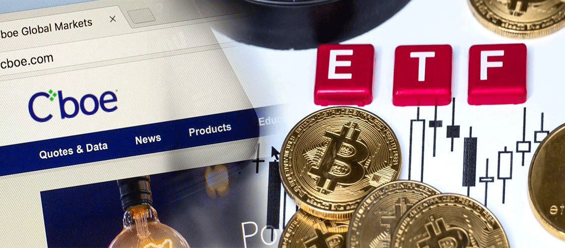 Cboe Applies with the SEC to List Fidelity Bitcoin ETF