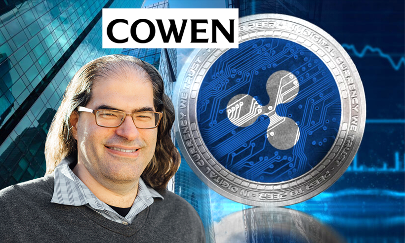 Cowen Bank to Invest $25 Million in Ripple CTO Company, PolySign