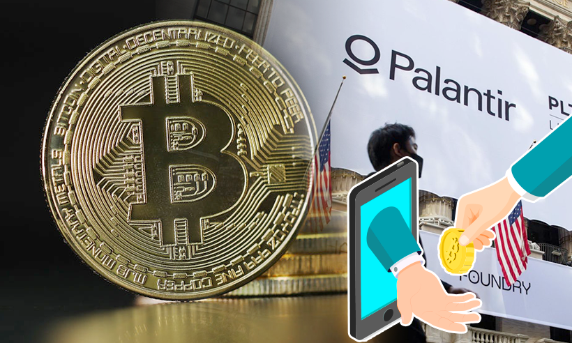 "Palantir Q1 Earning Suggests ""Firm is Bullish on Bitcoin"""