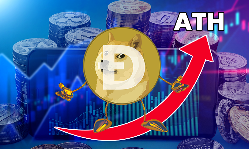 Dogecoin Hits ATH and Beats Market Cap of Twitter and Tether, Enters Top 5