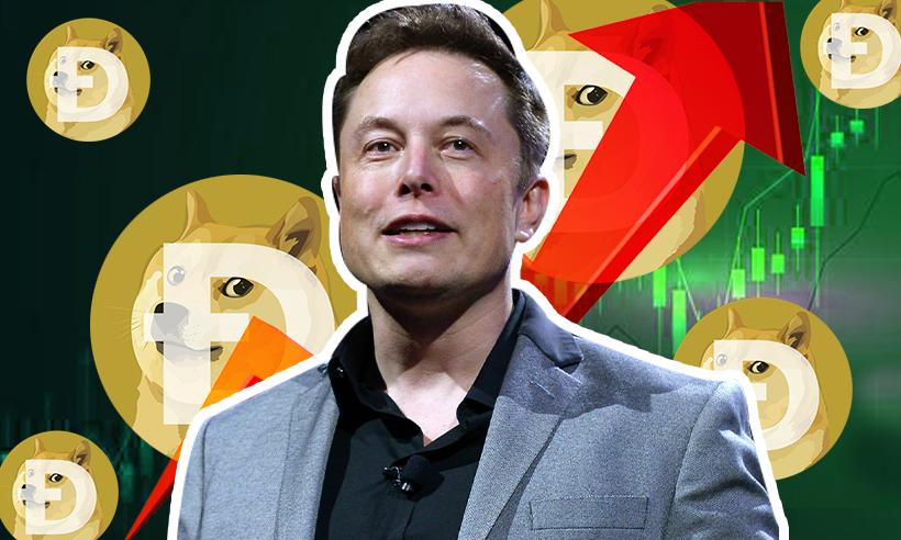 Dogecoin Rises 20% As Elon Musk Predicted $1 per Coin