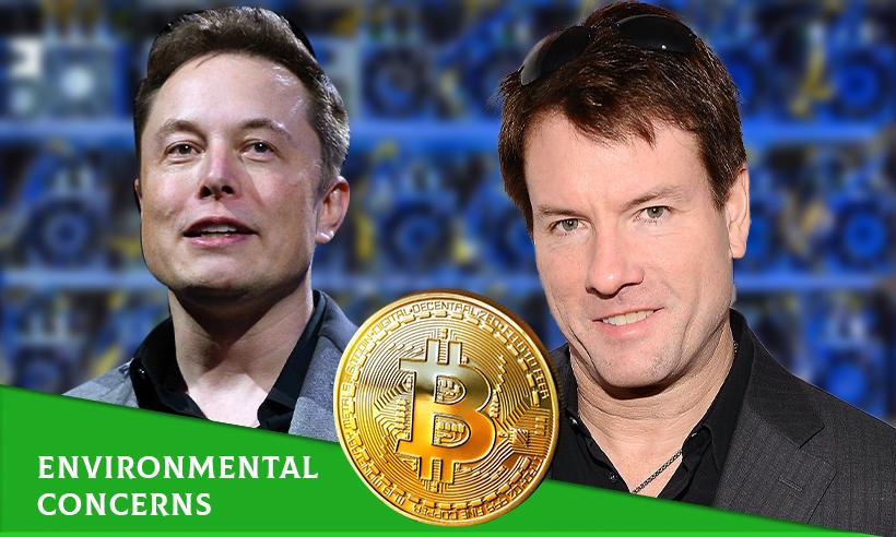 Elon Musk and Michael Saylor Address Environmental Concerns of Bitcoin Mining