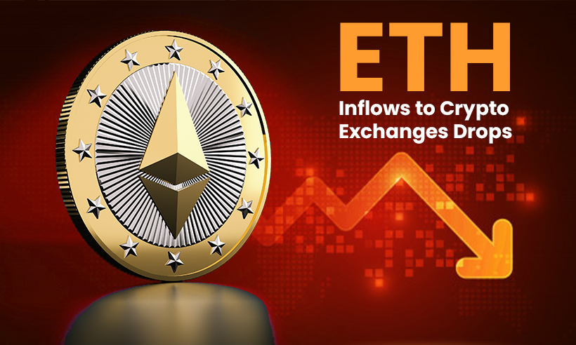 Ethereum Inflows to Crypto Exchanges Drops By 44.2%, Hits ATH of 3,500