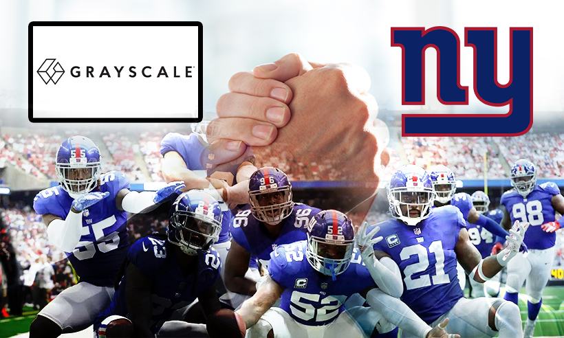 Grayscale Investments And The New York Giants Announces Exclusive Partnerships