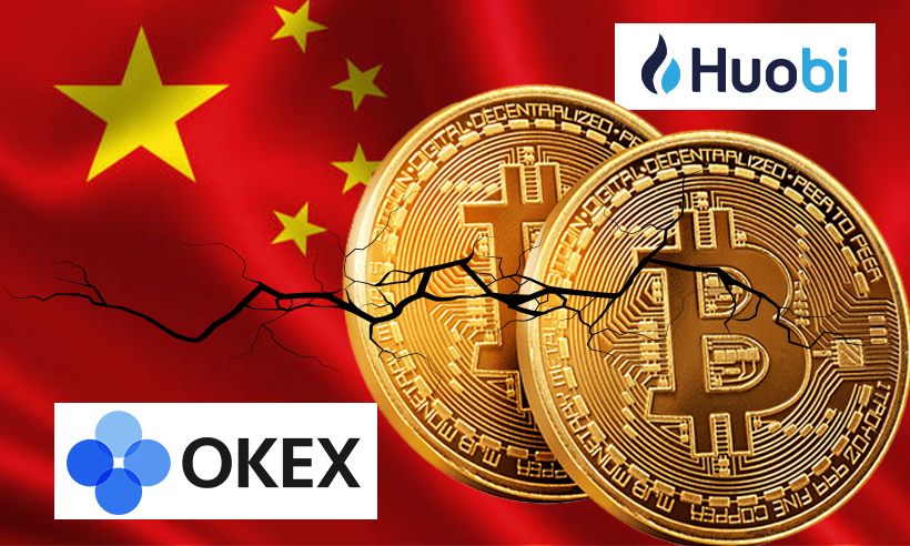 Huobi, OKEx Restrict Services for Chinese Clients Amid Govt Crackdown