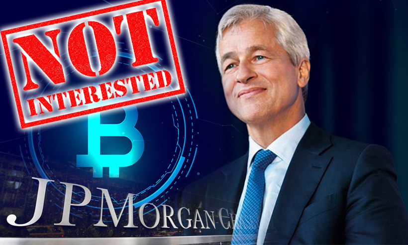 JPMorgan CEO Not Interested in Bitcoin, Says His Clients Are