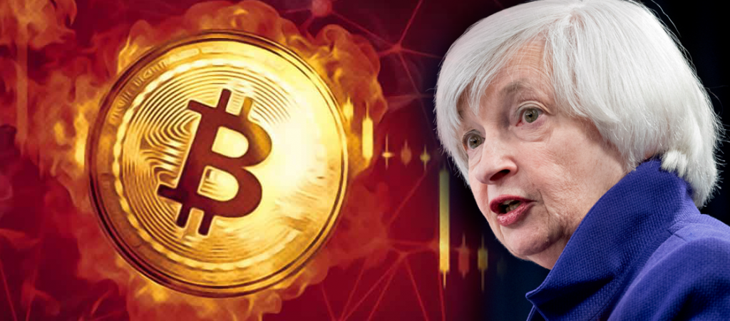 Janet Yellen Warns Rise in the US Interest Rates, Bitcoin Crashes