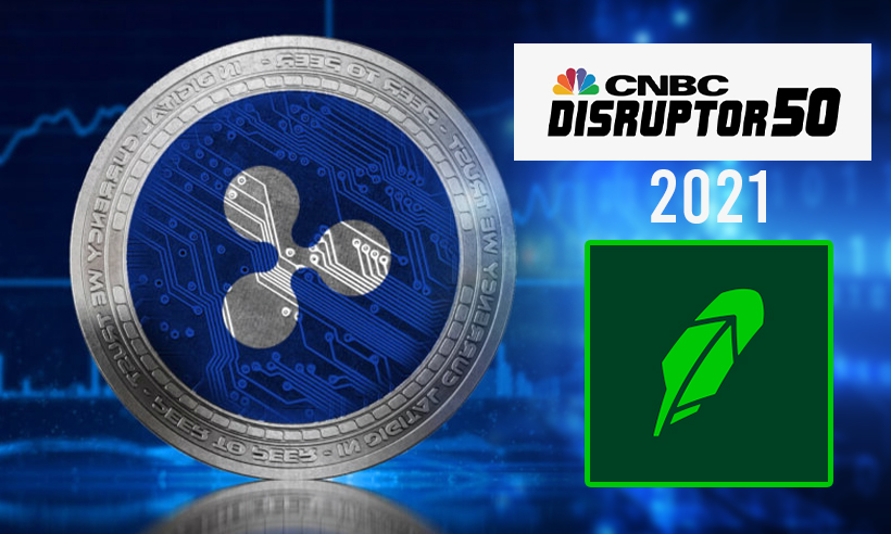 Ripple Named on CNBC's Annual List of 50 Disruptor Firms 2021