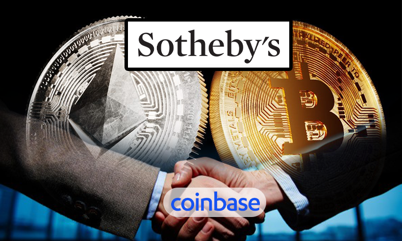 Sotheby Partners With Coinbase to Accept Digital Currencies