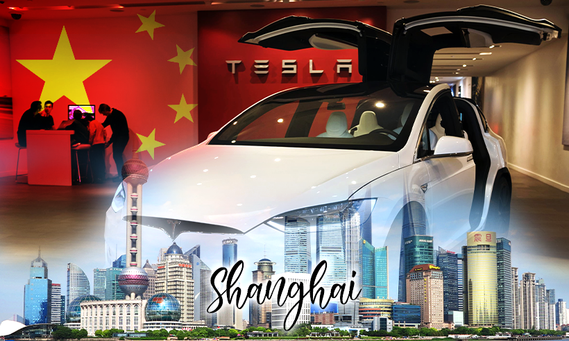 Tesla CEO Halts Shanghai Expansion, Starts Twitter Poll on Doge