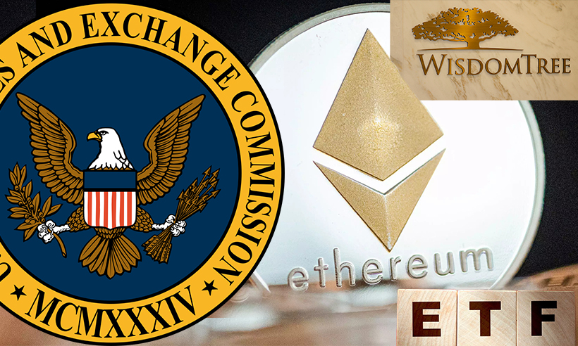 Wisdomtree Files With the SEC for an Ethereum ETF