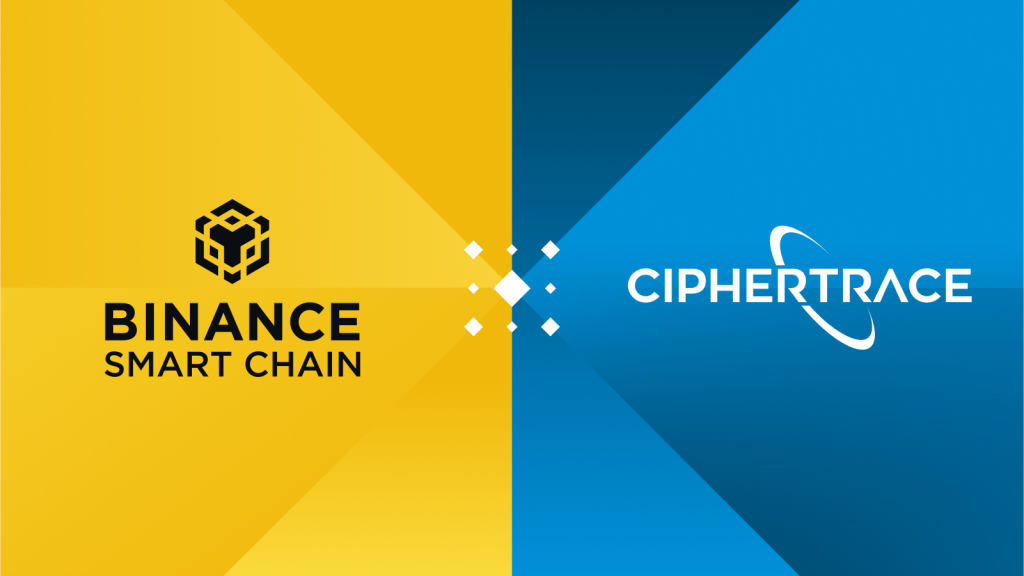 CipherTrace Adds Analytics Support for Binance Smart Chain to Track Illicit Transactions, Legitimizes Chain for More Partnership Opportunities